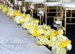 yellow-and-white-wedding-ceremony-decorations