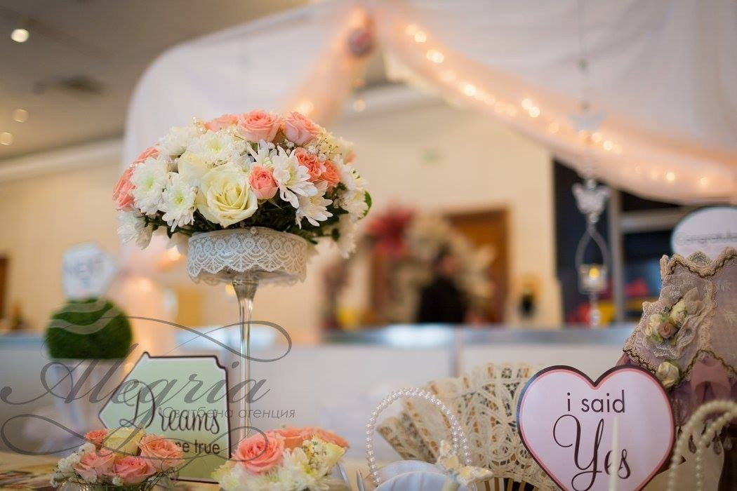 Цялостна сватбена декорация за вашата сватба