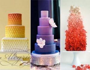 Актуални тенденции при сватбените торти от агенция Алегрия